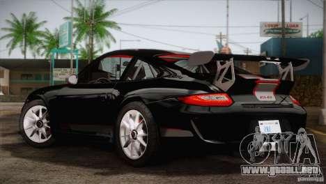 Porsche 911 GT3 para GTA San Andreas left