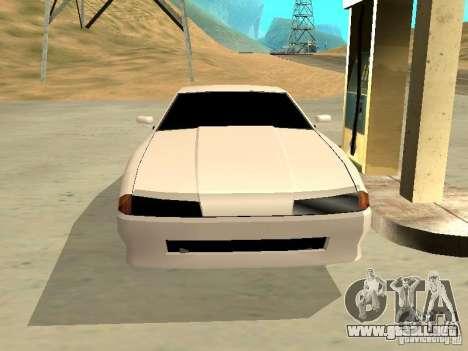 New Elegy v.1 para visión interna GTA San Andreas