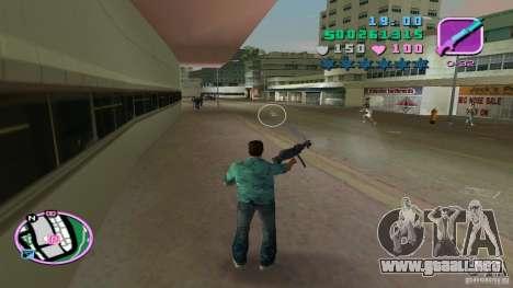 Tiro con una mano para GTA Vice City segunda pantalla