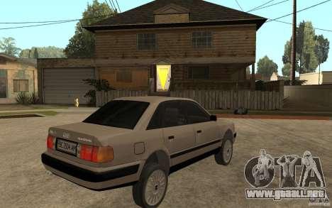 Audi 100 C4 1992 para la visión correcta GTA San Andreas