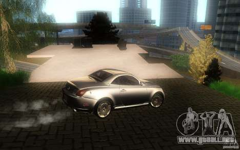 Lexus SC430 para vista lateral GTA San Andreas
