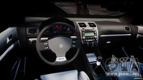 Volkswagen Golf R32 v2.0 para GTA 4 visión correcta