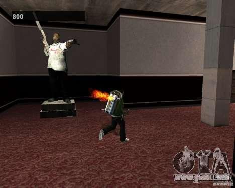 Interiores ocultos 3 para GTA San Andreas octavo de pantalla