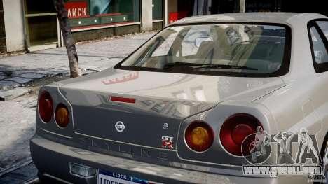 Nissan Skyline R34 Nismo para GTA motor 4
