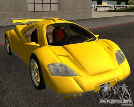 Conceptcar Nimble para la visión correcta GTA San Andreas