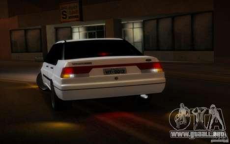 Ford Versailles 1992 para GTA San Andreas vista hacia atrás