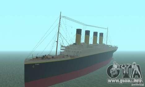RMS Titanic para GTA San Andreas