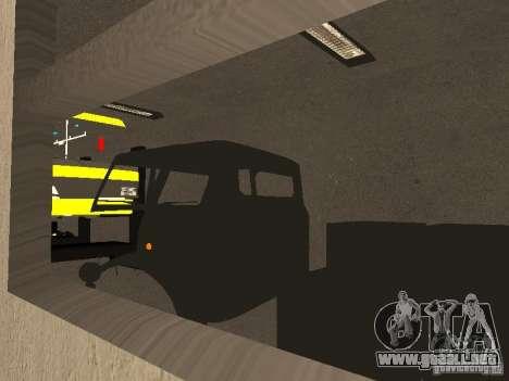 Garaje GRC en SF para GTA San Andreas sucesivamente de pantalla