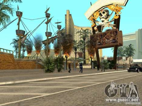 Nuevas texturas para casino Visage para GTA San Andreas