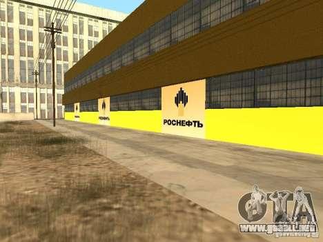 Nuevas texturas gasolineras para GTA San Andreas tercera pantalla