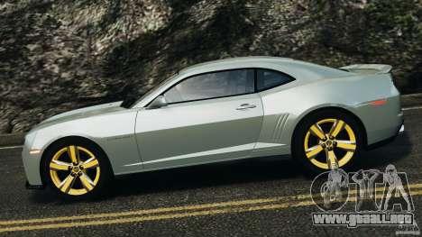 Chevrolet Camaro ZL1 2012 v1.2 para GTA 4 left