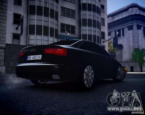 Audi A6 2012 para GTA 4 visión correcta