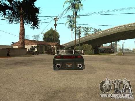 Mitsubishi Eclipse para la visión correcta GTA San Andreas