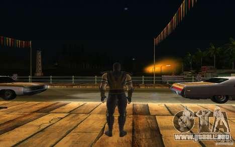 Scorpion v2.2 MK 9 para GTA San Andreas tercera pantalla