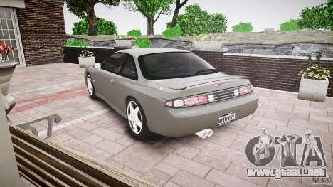 Nissan 200SX para GTA 4 Vista posterior izquierda