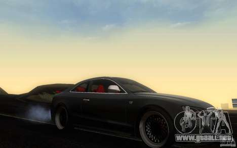 Audi S5 Black Edition para visión interna GTA San Andreas