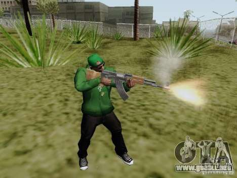 AK-47 de Saints Row 2 para GTA San Andreas segunda pantalla