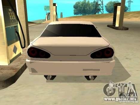 New Elegy v.1 para GTA San Andreas left