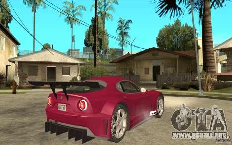 Alfa Romeo 8C GT3 RSX para la visión correcta GTA San Andreas