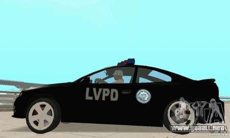 Pontiac GTO 2004 Cop para la visión correcta GTA San Andreas