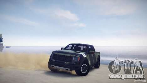 Ford F150 SVT Raptor 2011 UNSC para GTA 4