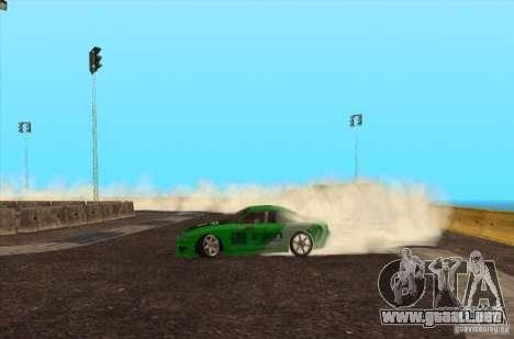 Nueva pista para deriva para GTA San Andreas tercera pantalla