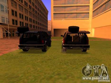 Mountainstalker S para GTA San Andreas interior
