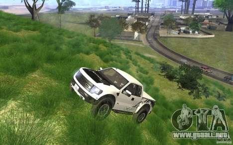 Ford F150 SVT RapTor para vista inferior GTA San Andreas