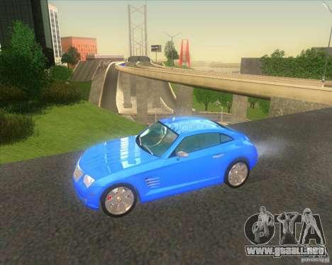 Chrysler Crossfire para GTA San Andreas
