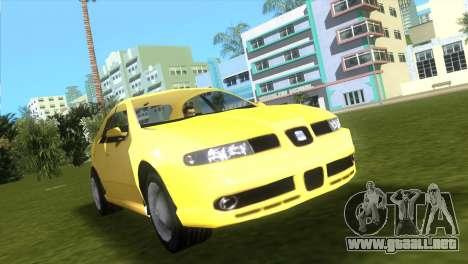 Seat Leon Cupra R para GTA Vice City