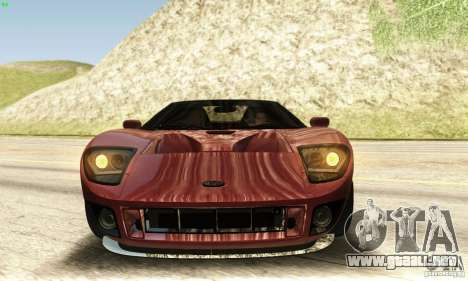 Ford GTX1 Roadster V1.0 para vista lateral GTA San Andreas