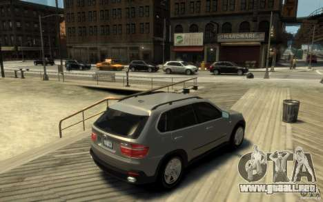BMW X5 E70 Chrome para GTA 4 visión correcta