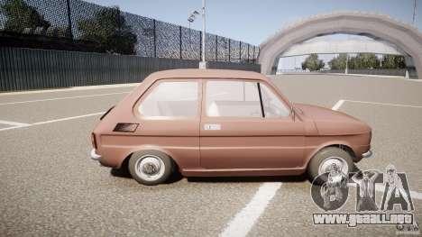 Fiat 126 para GTA 4 vista interior