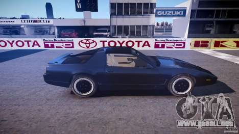 Knight Rider [EPM] para GTA 4 vista lateral