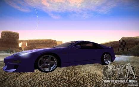 Nissan 300 ZX para GTA San Andreas left