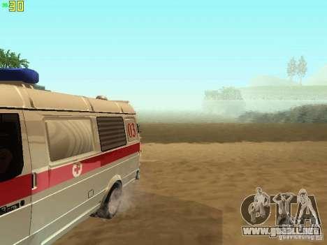 Gacela 32214 ambulancia para visión interna GTA San Andreas