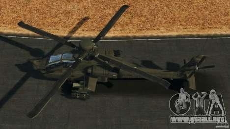 Boeing AH-64 Longbow Apache v1.1 para GTA 4 visión correcta