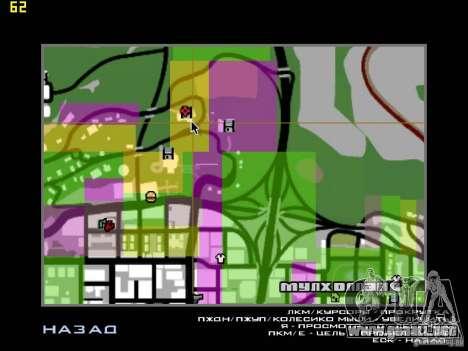 Miami House para GTA San Andreas quinta pantalla