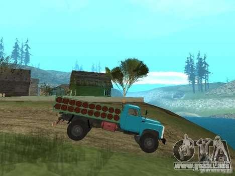 GAZ-53 ballonovoz para GTA San Andreas left