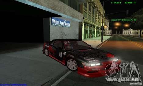 Nissan Silvia S13 Tunable para la visión correcta GTA San Andreas
