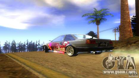 Toyota AE86 Coupe - Final para GTA San Andreas left