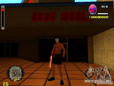 Hombre piel playa para GTA San Andreas