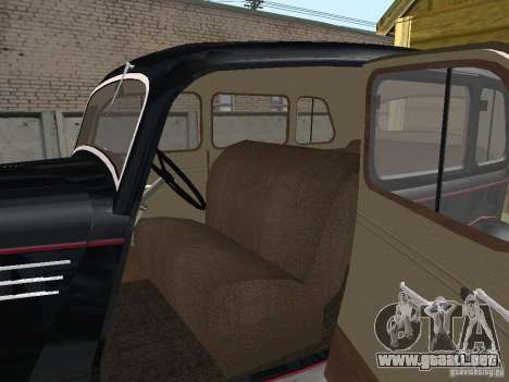 GAS 11-73 para GTA San Andreas vista hacia atrás