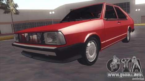 Volkswagen Passat TS 1981 Original para GTA San Andreas
