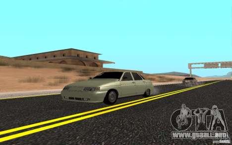 VAZ 2110 luz Tuning para GTA San Andreas
