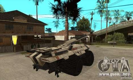 M35 Mako para la visión correcta GTA San Andreas