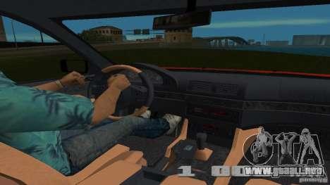 BMW 5S Touring E39 para GTA Vice City visión correcta