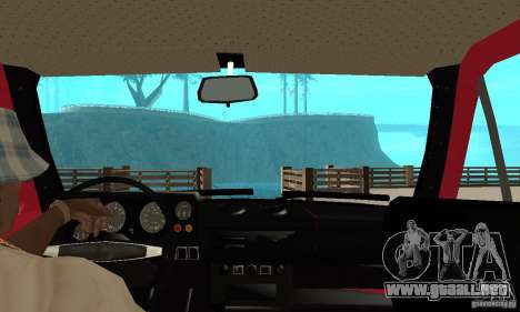 VAZ 2121 Niva para la visión correcta GTA San Andreas