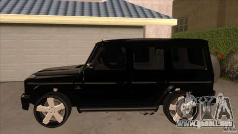 Mercedes-Benz G65 Asanti AF144 para GTA San Andreas left