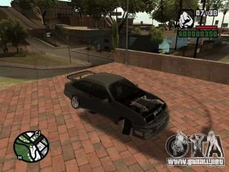 Ford Sierra Drift para GTA San Andreas left